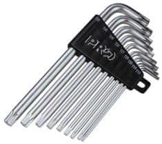 PRO Sada kľúčov šesťhran gulička T10/T15/T25/T30/T40/T45/T50