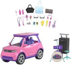 Mattel Barbie Dreamhouse Adventures Transformující se auto