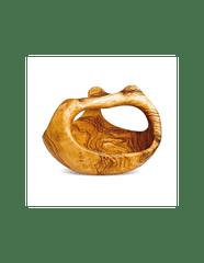 Arte Legno Luxusní košík z olivového dřeva