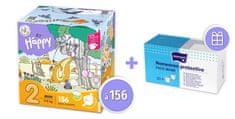 Bella Happy 2 Mini Box (3-6 kg) 156 ks
