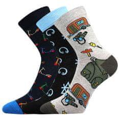 Fuski - Boma ponožky 057-21-43 11/XI Barva: mix A - kluk, Velikost: 20-24 (14-16)