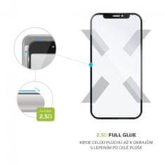 FIXED Edzett védőüveg Full-Cover ASUS Zenfone 8 Flip részére, a képernyő egész felületére ragasztva FIXGFA-759-BK, fekete