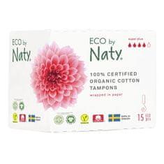 ECO by Naty Dámské tampóny ECO by Naty - super plus (15 ks)