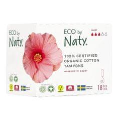 ECO by Naty Dámské tampóny ECO by Naty - super (18 ks)