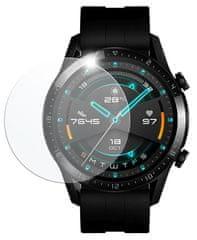 FIXED Védett edzett üveg okosóra Huawei Watch GT 2 (46 mm), 2 db FIXGW-711 csomagban, átlátszó