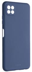 FIXED Gumírozott Story hátlap Samsung Galaxy A22 5G készülékhez FIXST-671-BL, kék