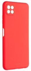 FIXED Gumírozott Story hátlap Samsung Galaxy A22 5G FIXST-671-RD készülékhez, piros