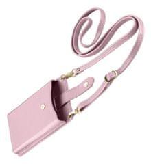CellularLine Nyaktáska Mini táska mobiltelefonokhoz MINIBAGP, rózsaszín