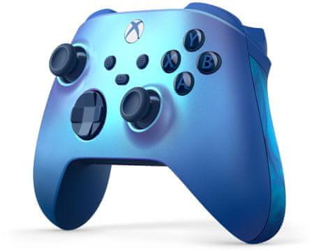 Microsoft Xbox Wireless Controller vibrace hybridní směrový ovladač analogové páčky