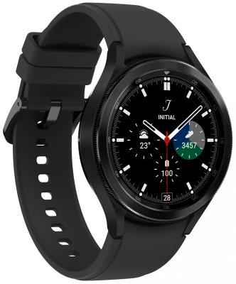 inteligentné hodinky Samsung Galaxy Watch4 Classic 46mm Black LTE android nerez oceľ odolné vode Bluetooth nfc google pay reproduktor BIA