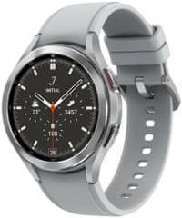 SAMSUNG Galaxy Watch4 Classic 46mm, Silver LTE