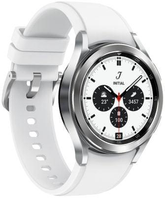 inteligentné hodinky Samsung Galaxy Watch4 Classic 42mm Black android nerez oceľ odolné vode Bluetooth nfc google pay reproduktor BIA