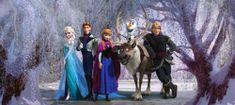 AG design Fototapeta Frozen