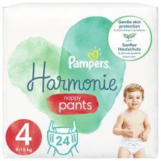 Pampers Plenkové Kalhotky Pants Harmonie Velikost 4, 24 Plenky, 9kg-15kg