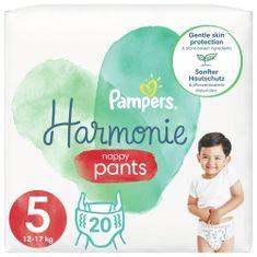 Pampers Plenkové Kalhotky Pants Harmonie Velikost 5, 20 Plenky, 12kg-17kg