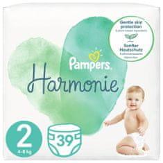Pampers Harmonie Velikost 2, 39 Plenky, 4kg-8kg