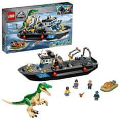 LEGO Jurassic World 76942 Útěk baryonyxe z lodě