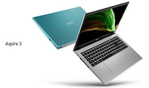Notebook Acer Aspire 3 výkonný procesor Intel Celeron Core 11. generace DDR4 SSD
