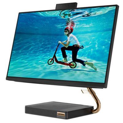 All in One počítač IdeaCentre AIO 5 24IMB05 (F0FB0080CK) kancelářský 23,8 palců Full HD IPS displej Dolby Audio Premium HD webkamera kompletní sestava PC prémiová kvalita