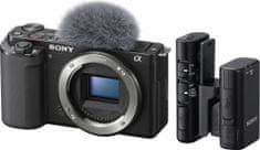 Sony ZV-E10 Body + mikrofon ECM-W2BT