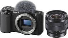Sony ZV-E10 Body + 10-18mm