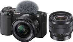 Sony ZV-E10 + 16-50mm + 10-18mm