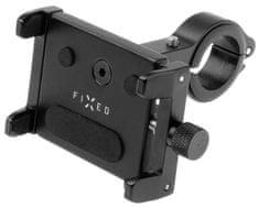 FIXED Alumínium mobiltelefontartó kerékpárra Bikee ALU FIXBIA-BK, fekete