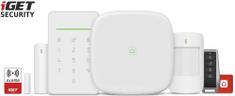 iGET SECURITY M5-4G Premium - 4G LTE/WiFi/LAN intelligens biztonsági rendszer, készlet