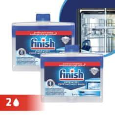 Finish Čistilo za pomivalni stroj Dual Action 2x250 ml