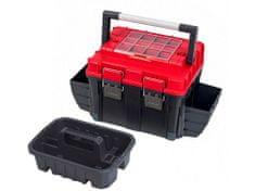 PATROL kufr na nářadí TOOLBOX HD COMPACT 2 CARBO 515×350×350 mm