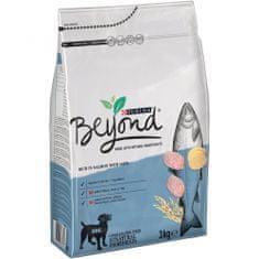 BEYOND Kutyatáp lazaccal, zabbal és édesburgonyával, 4 × 3 kg