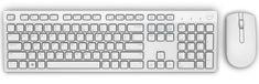 DELL KM636, US, bílá (580-ADGF)