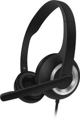 Connect IT (CHP-1010-BK) fejhallgató mikrofonnal