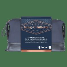 Gillette King C. Gillette: Szakáll- és Arctisztító + Balzsam + Fésű