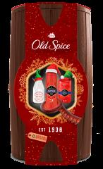 Old Spice Captain Wooden Barrel Karácsonyi Ajándékkészlet férfiaknak