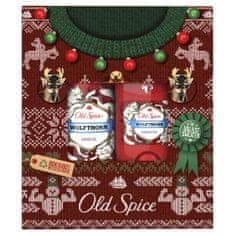 Old Spice Wolfthorn Csúnya karácsonyi pulóver ajándékcsomag férfiaknak
