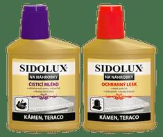 Sidolux duopack sírkőtisztító (tisztítószer + fényesítő)