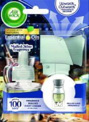 Air wick elektrický osvěžovač vzduchu - strojek & náplň - Vůně svařeného vína 19 ml