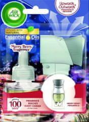Air wick elektrický osvěžovač vzduchu - strojek & náplň - Vůně zimního ovoce 19 ml