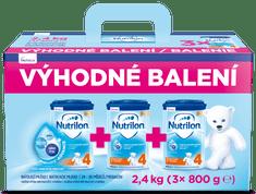 Nutrilon 4 batolecí mléko 3x 800 g, 24+ – výhodné balení