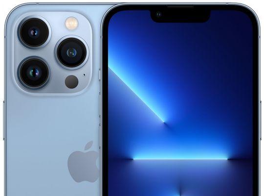 Apple iPhone 13 Pro, OLED Super Retina XDR displej, TrueTone displej, věrné barvy, vysoké rozlišení, velký displej, šetrný, TrueMotion 120 Hz