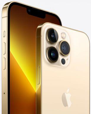 Apple iPhone 13 Pro, design, 4 barvy. matně texturované sklo, zaoblené rohy, nerezová ocel