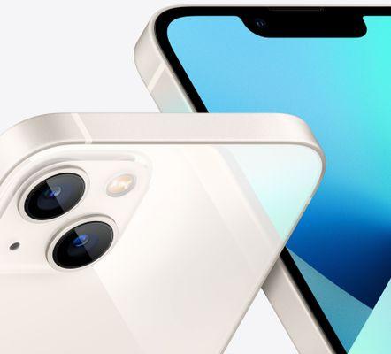Apple iPhone 13, OLED Retina XDR displej, TrueTone displej, věrné barvy, vysoké rozlišení, velký displej, šetrný