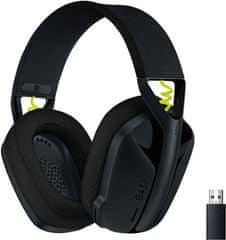 Logitech G435, černá (981-001050)
