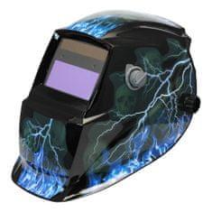 Asist Svářečská ochranná maska - dekor blesky AR06-1001LI