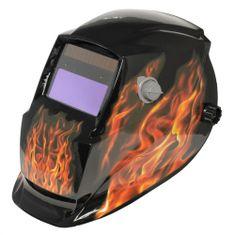 Asist Svářečská ochranná maska - dekor plameny AR06-1001FL