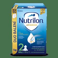 Nutrilon 2 Advanced pokračovací kojenecké mléko 1 kg, 6+