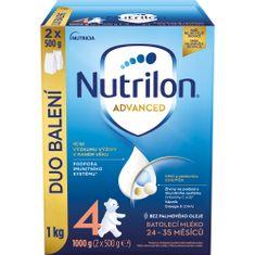 Nutrilon 4 Advanced batolecí mléko 1 kg, 24+