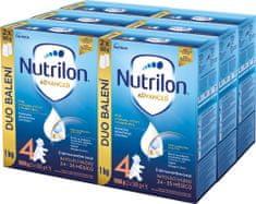 Nutrilon 4 Advanced batolecí mléko 6x 1 kg, 24+