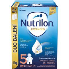 Nutrilon 5 Advanced batolecí mléko 1 kg, 35+